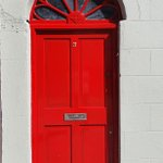 Image for the Tweet beginning: Here's another red door #whereinWaterford