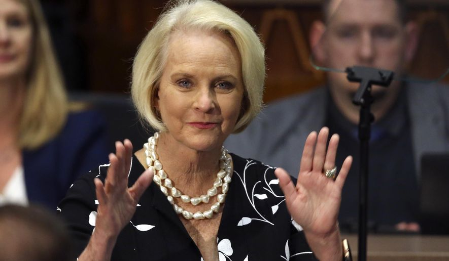 @WashTimes's photo on Cindy McCain