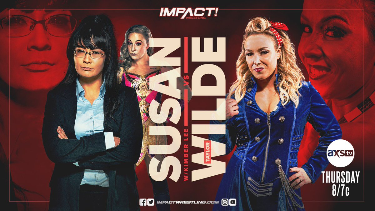 Another Match Added to Thursday's Impact, Updated Line-Up