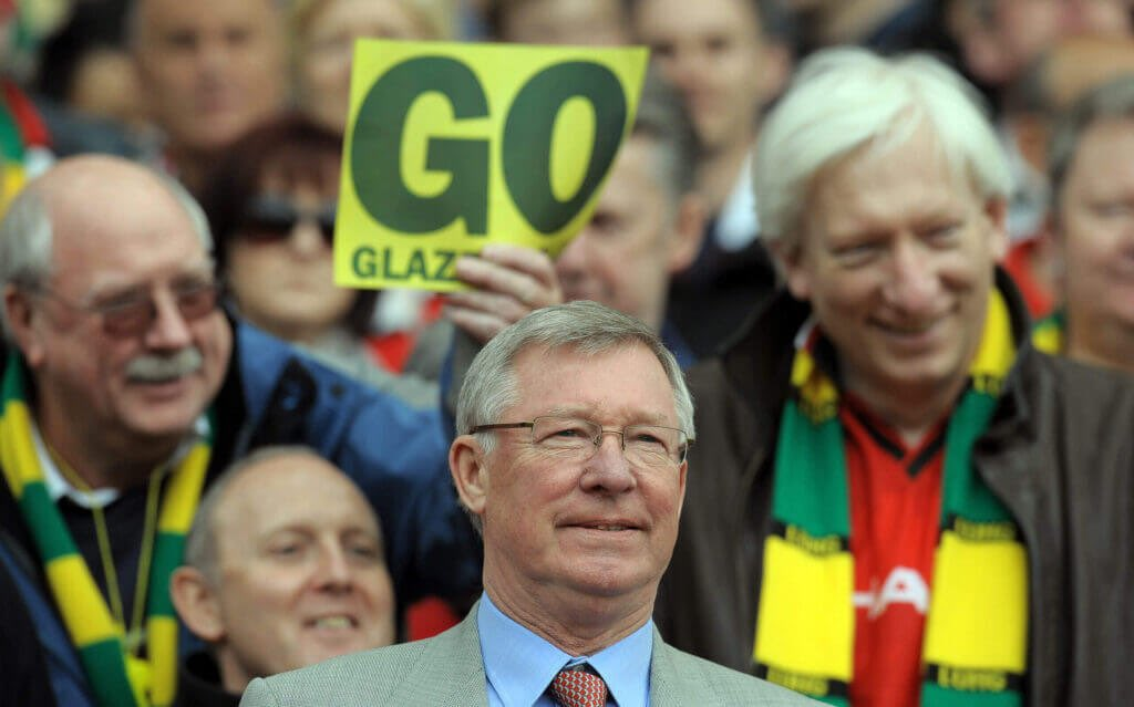 """United fans weren't protesting when they were winning under Fergie"" https://t.co/jFF6gpjMLU"