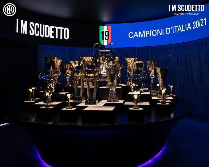 Inter Milan meraih scudetto ke 19 dalam sejarah klub