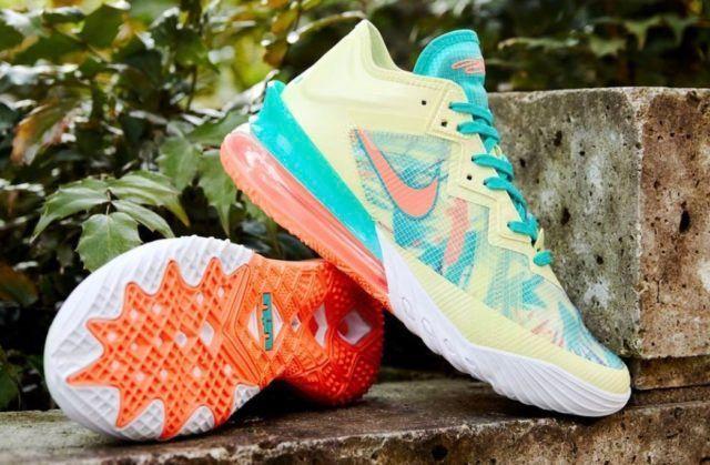 Select sizes available Nike LeBron 18 'LeBronold Palmer' =