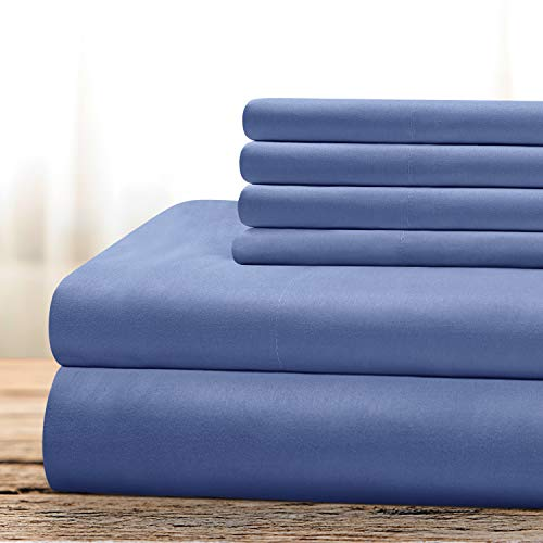 2 BYSURE 6 Piece Hotel Luxury Bed Sheets Set