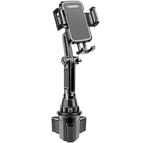 2 Car Cup Holder Phone Mount Adjustable Long Pole