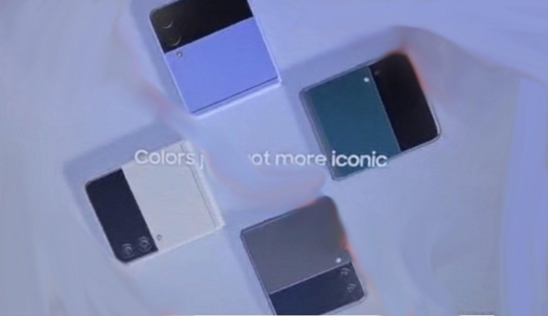 Samsung Galaxy Fold 3 y Galaxy Flip 3 aparecen filtrados