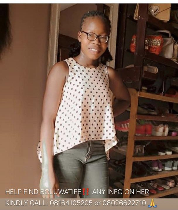 Missing Girl Alert!  🚨 Please help find Boluwatife Adegoke Last seen location was access bank adeniji lagos island 🙏 It's been 3days now, she's only 14  Her mom sent her to withdraw at an atm less than 5min from the house 1pm Since then she has not been found https://t.co/SvvxL71TRC