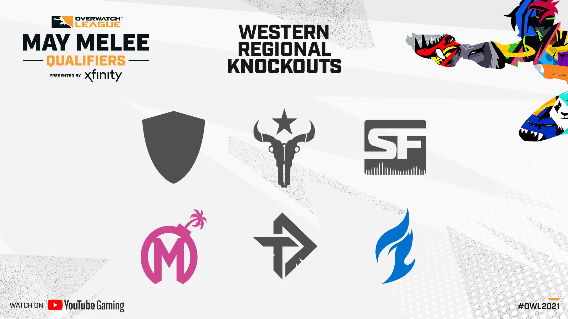 The Houston Outlaws knocked out of the May Melee qualifiers.