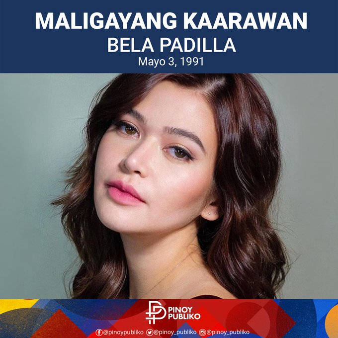 Happy Birthday to the beautiful movie actress  Bela Padilla!