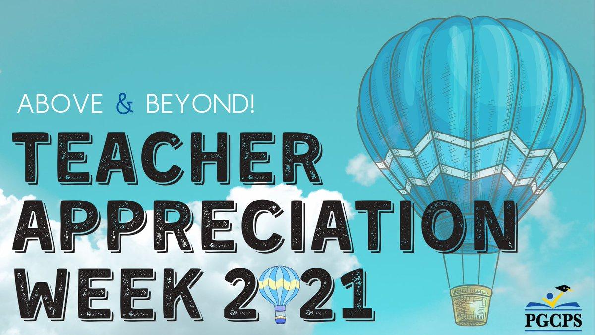 Happy #TeacherAppreciationWeek!