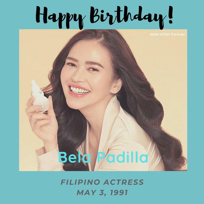 Happy Birthday Bela Padilla...