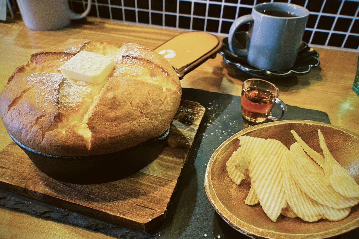 最高のものが出てきた!?カフェ営業を始めた居酒屋のホットケーキが凄い!