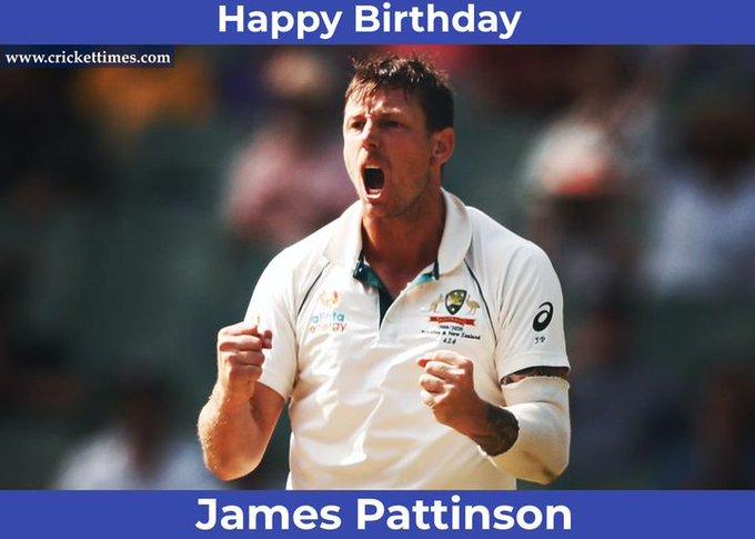 Happy Birthday, James Pattinson