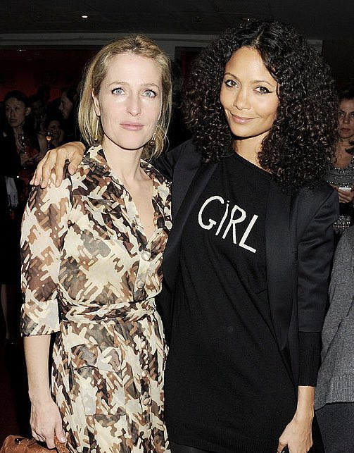RT @_X_Fls: Gillian Anderson, Thandie Newton & Cate Blanchett hanging about together https://t.co/Y6uCmqsblS