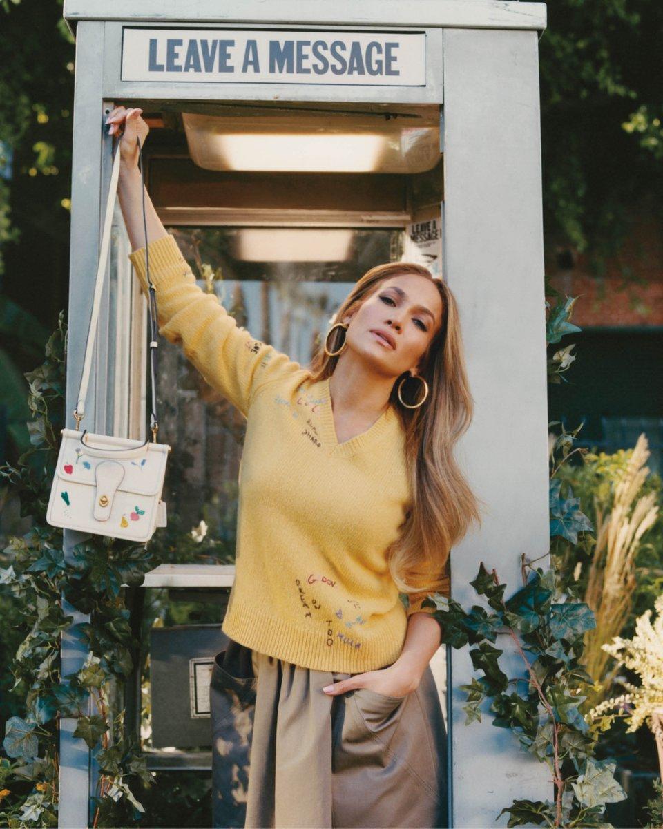 ATTN: Mother's Day is this Sunday. Look ☝️ for gift inspo (#JenniferLopez has some ideas). #CoachxJLo  #CoachNY