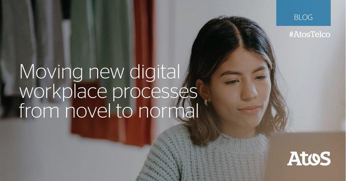 [#digitalWorkplace]对#Technology促进合作的依赖性和......
