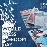 Image for the Tweet beginning: Today is #WorldPressFreedomDay 🗞️📚 Free opinions