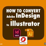 Image for the Tweet beginning: How to open InDesign in
