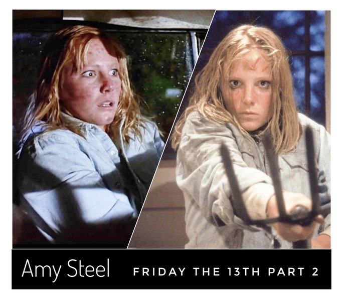 Happy birthday to the final girl Amy Steel aka. Ginny