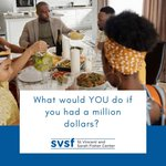 What would YOU do if you had a million dollars?  Bring this question to the dinner table tonight!