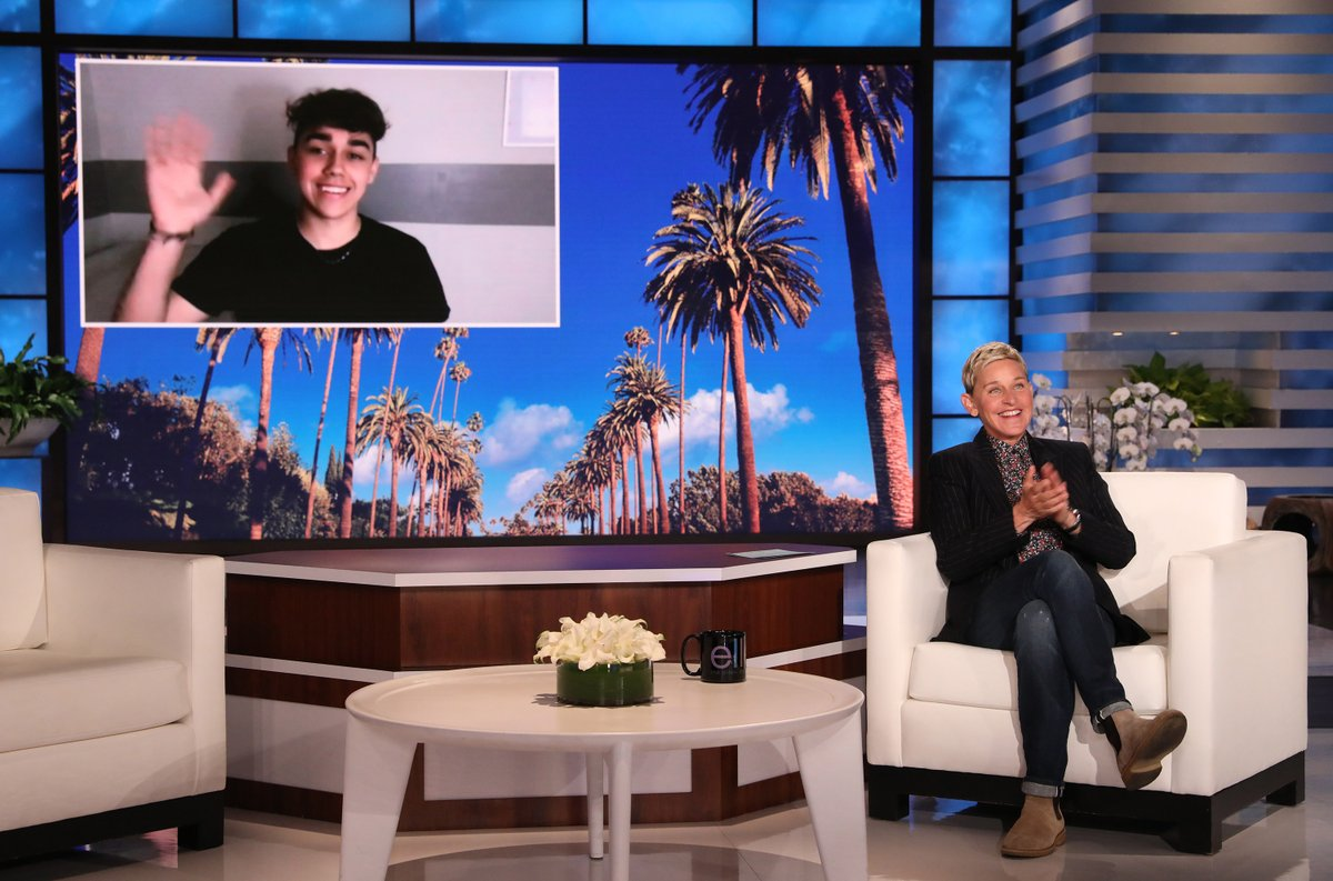 Make sure to tune in on @TheEllenShow today at 4PM ET/3PM CT to catch Jay Cameron discussing @TranshoodFilm and speaking on the anti-trans legislation sweeping the country. #Transhood #TransRightsAreHumanRights #VisibilityMatters https://t.co/Fqe2ielGpy
