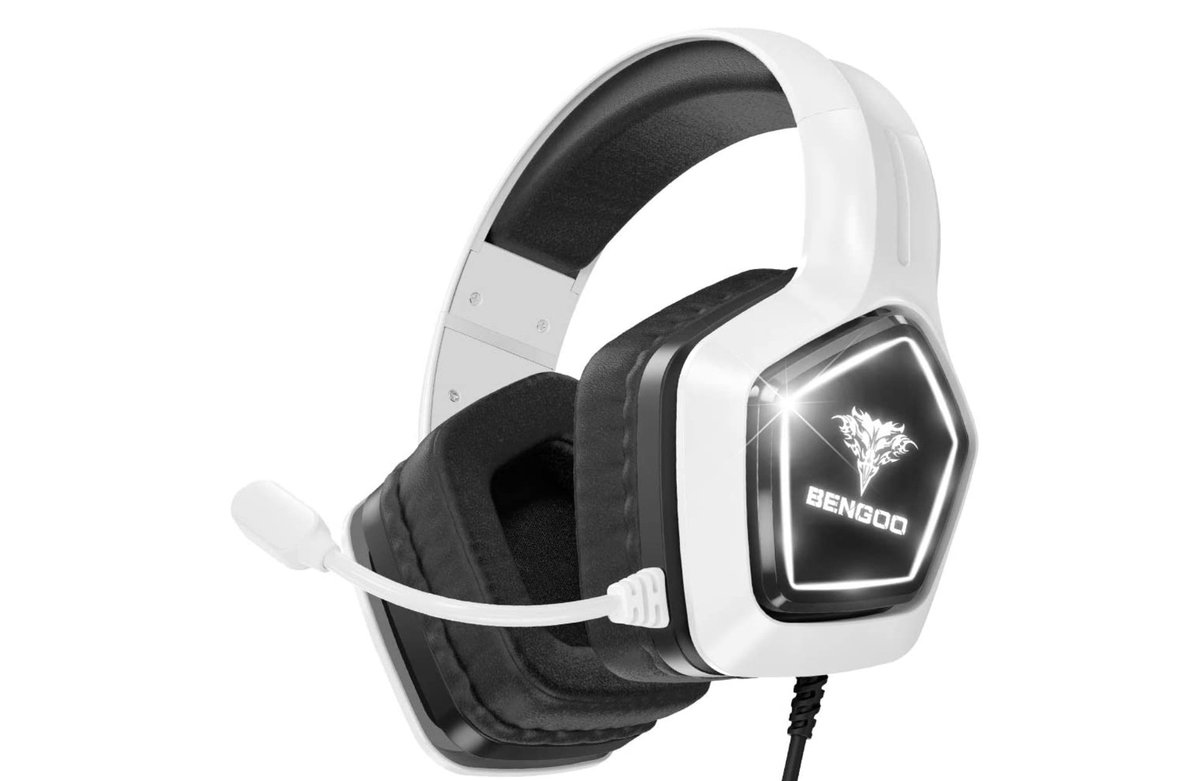 Bengoo G9700 Gaming Headset for PS5 & PS4 List Price: $25.99  Price: $20.99  Amazon USA 2