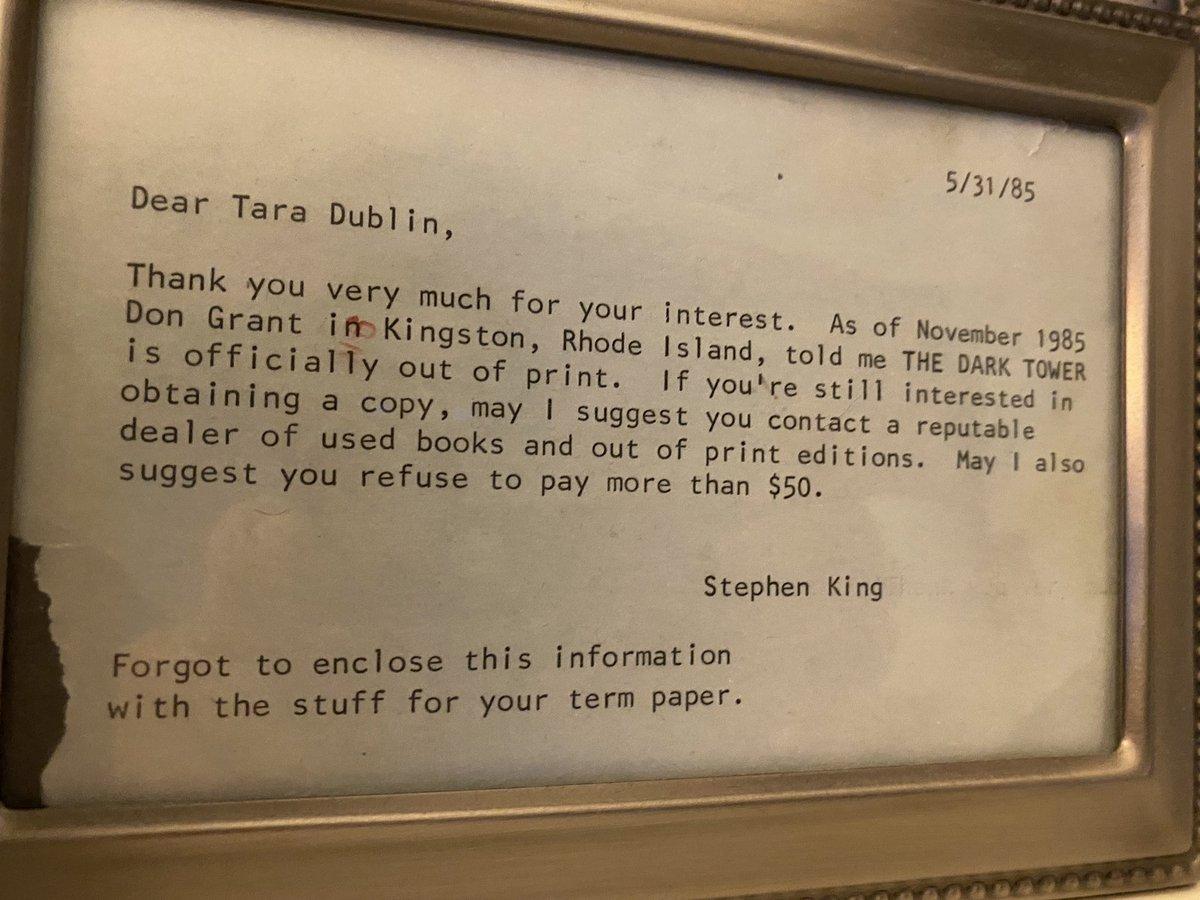 @taradublinrocks's photo on Stephen King