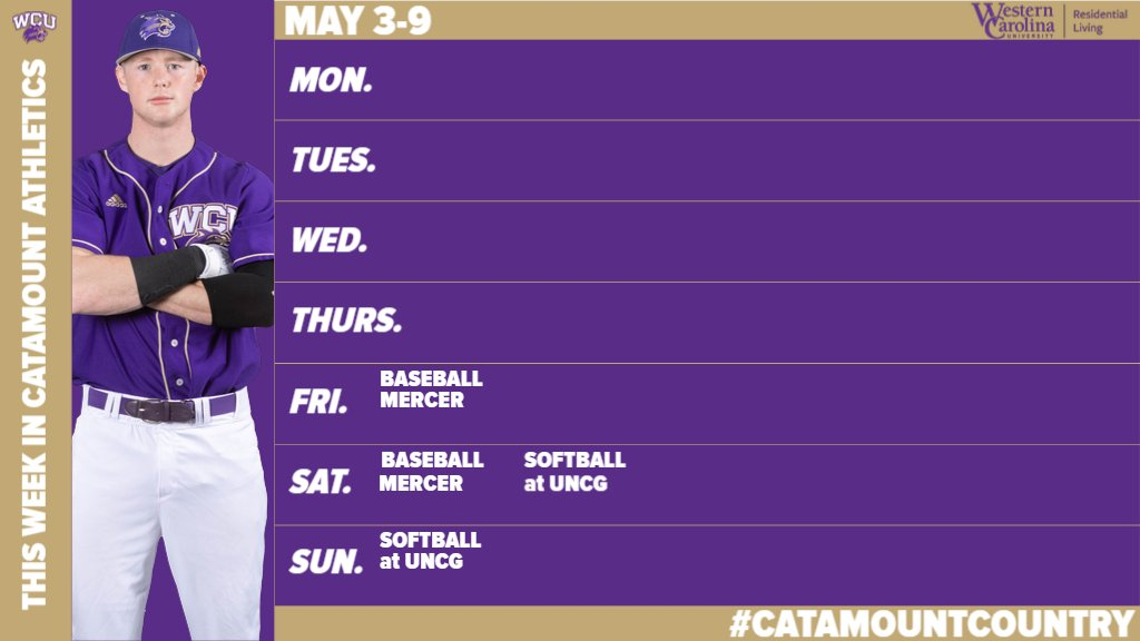 This Week in Catamount Sports