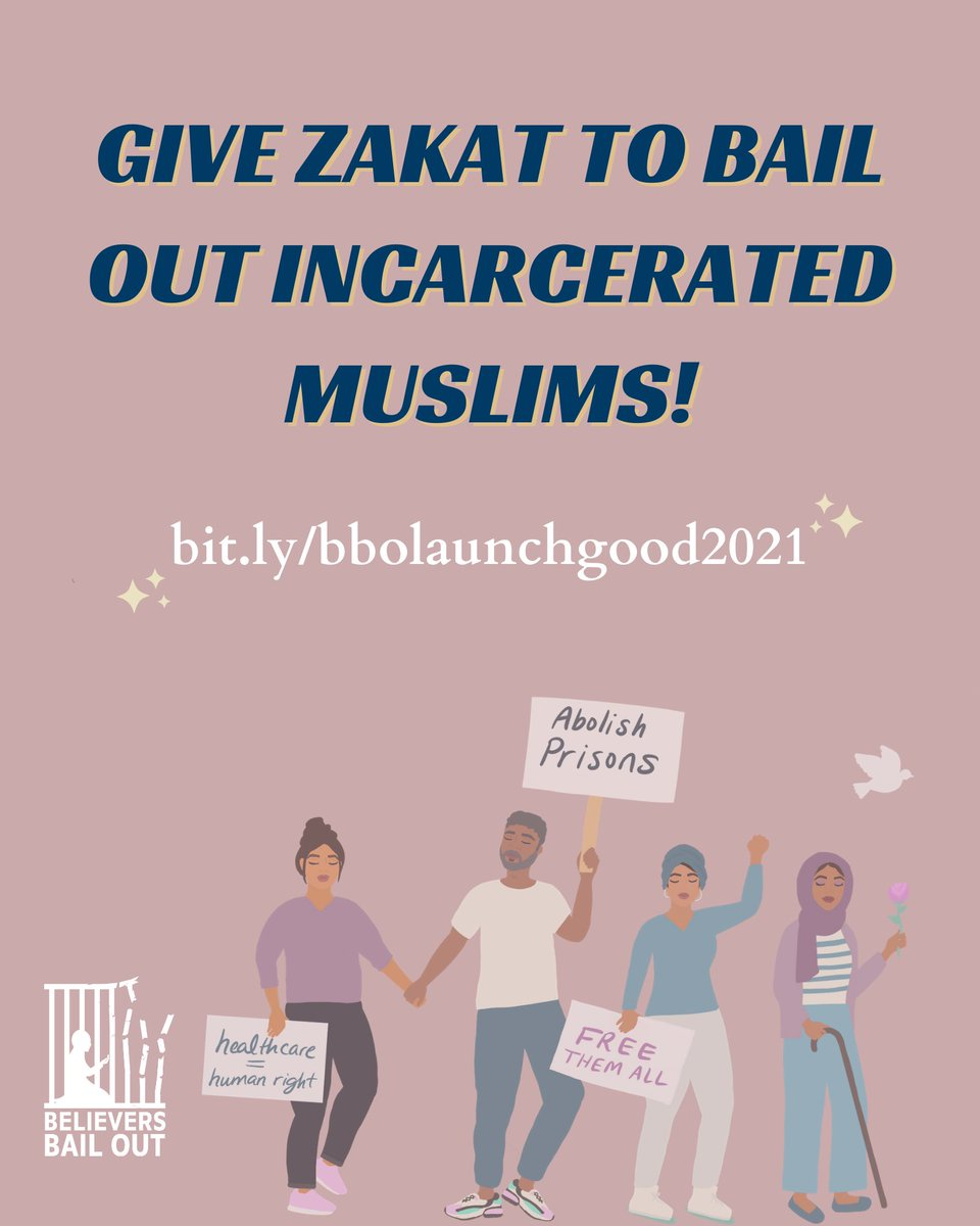 As we take advantage of these last 10 days of Ramadan, let's use our Zakat to free our Muslim kin from incarceration!   Donate and share our #Ramadan campaign https://t.co/X4Ewk5n8Lz  May Allah protect our incarcerated kin and reunite them with their families and communities 🤲🏽🤲🏿 https://t.co/5YTrLhcpSS
