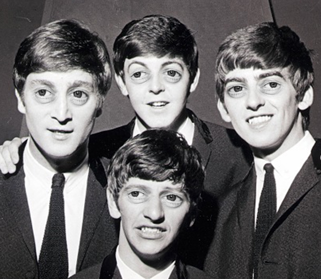 fuck it, here's the beatles with steve buscemi eyes