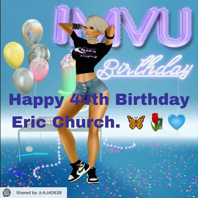 Happy Birthday Eric Church!!