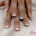 Image for the Tweet beginning: A stunning 'French Manicure' carried