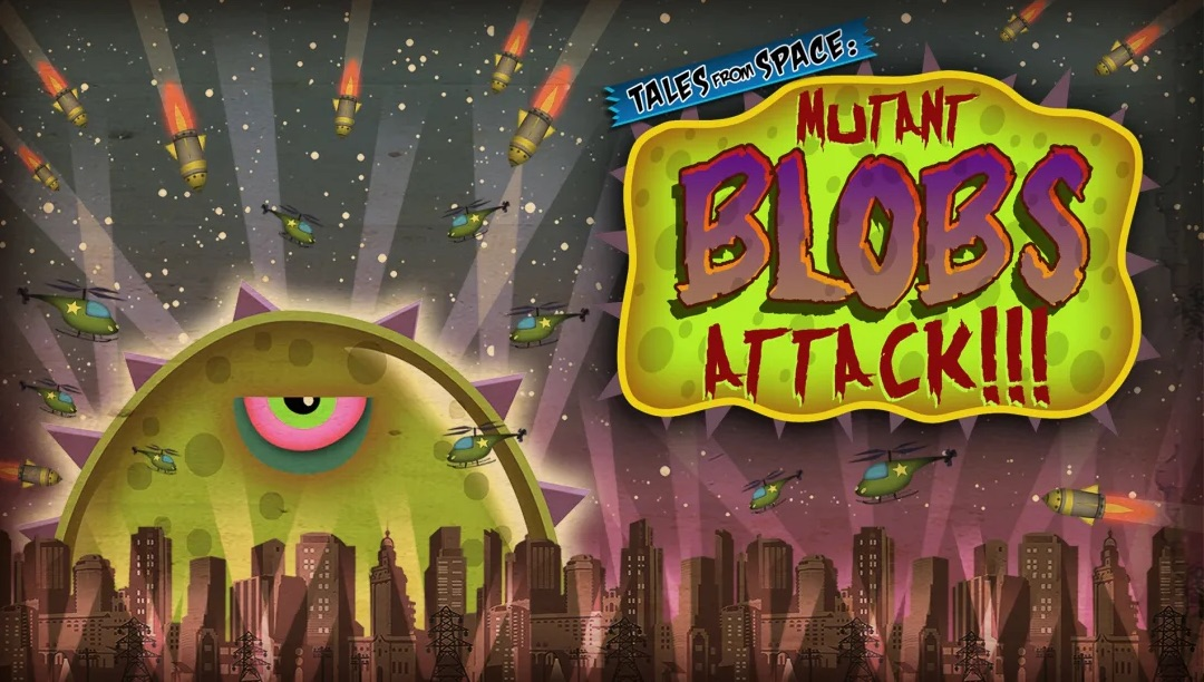 Tales From Space: Mutant Blobs Attack (Switch) is $4.79 on the eShop 2