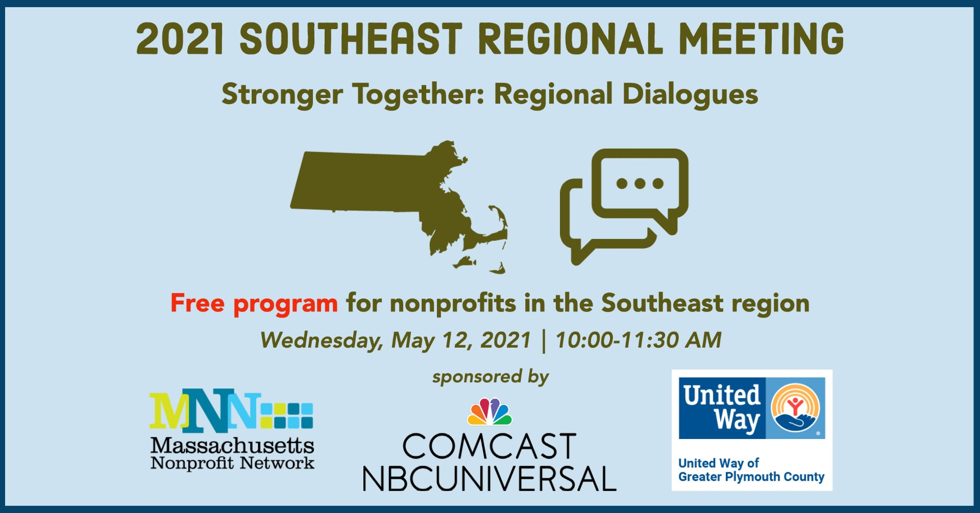 MA Nonprofit Network: Southeast Regional Meeting - May 12