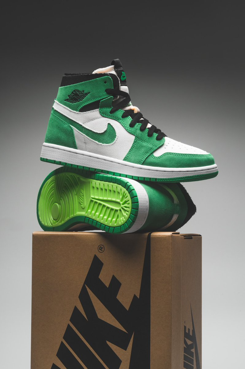 LIVE via Foot Locker Air Jordan 1 CMFT 'Stadium Green  =  Link0 =  Link0