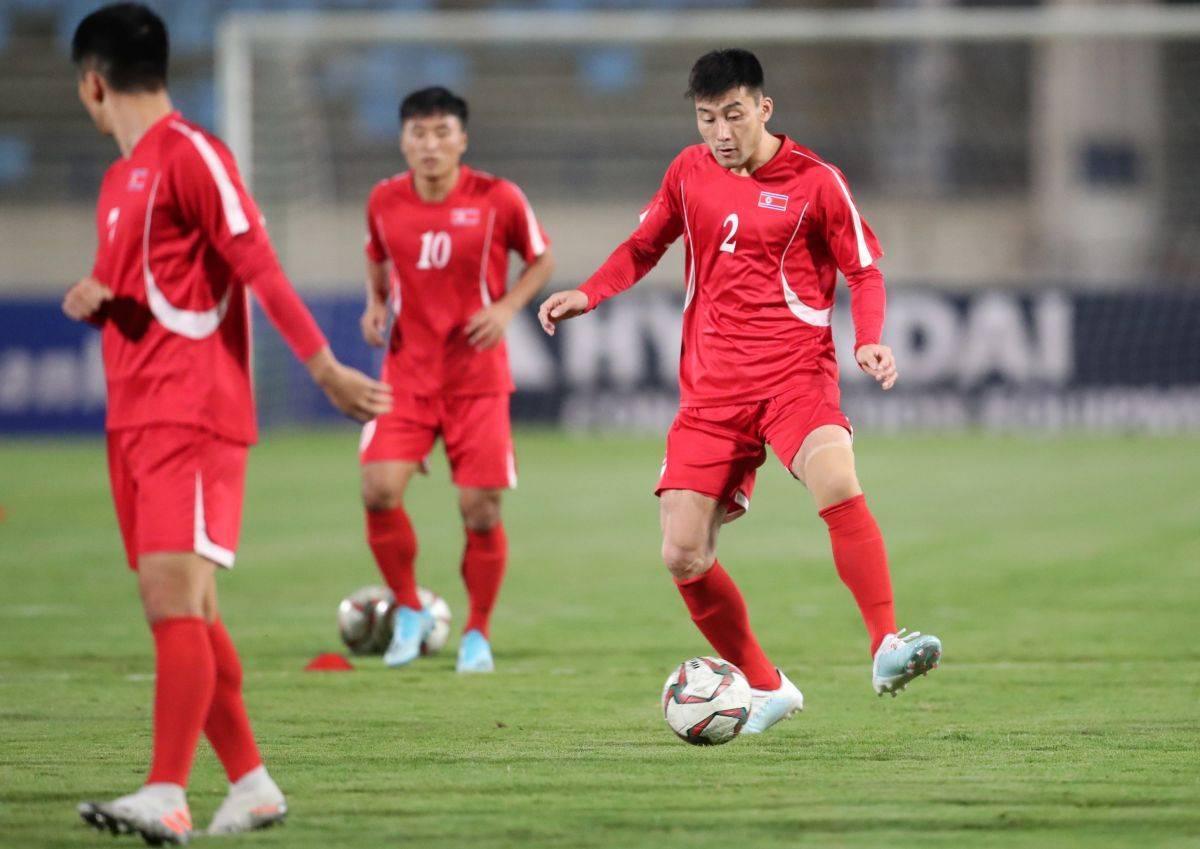 Corea del Norte se retira de la clasificación para el mundial de  Qatar 2022