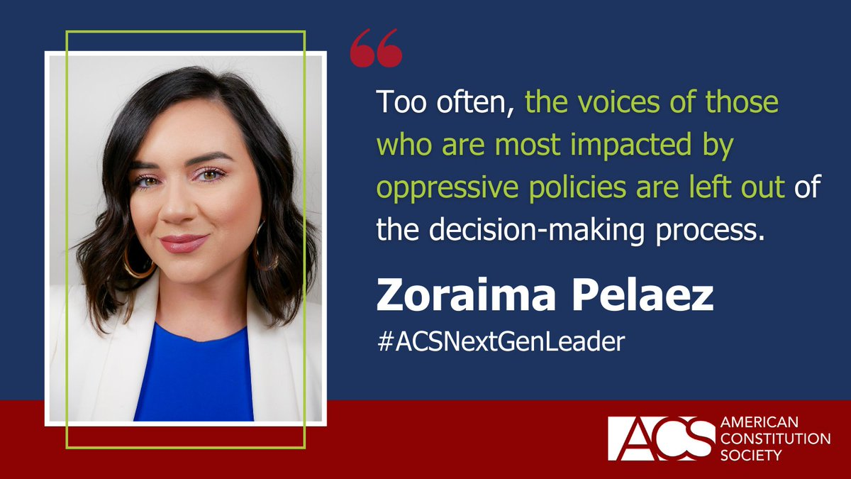 The next generation is here. We're proud to introduce exceptional legal professionals who make up our ACS Next Generation Leaders Class of 2021: https://t.co/J0IzYPOhn6 #ACSNextGenLeader https://t.co/JKzJjwcg26