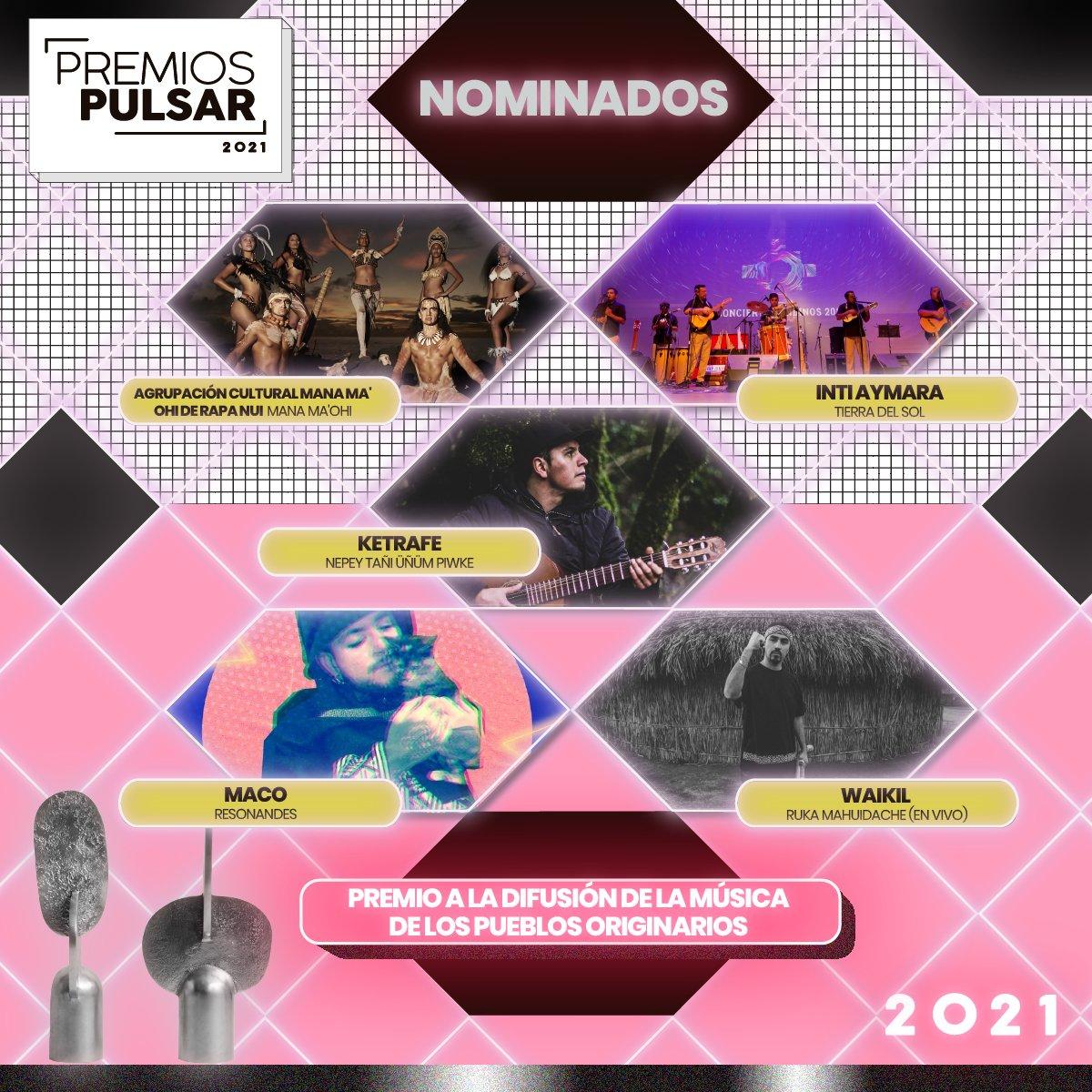 test Twitter Media - 📣 Música popular y proveniente de nuestras raíces: El rescate y difusión de la música de los pueblos originarios de Chile es fundamental en esta categoría #PremiosPulsar2021 🎶 +Detalles en https://t.co/nqRoq56kEM https://t.co/QksKwgT48O