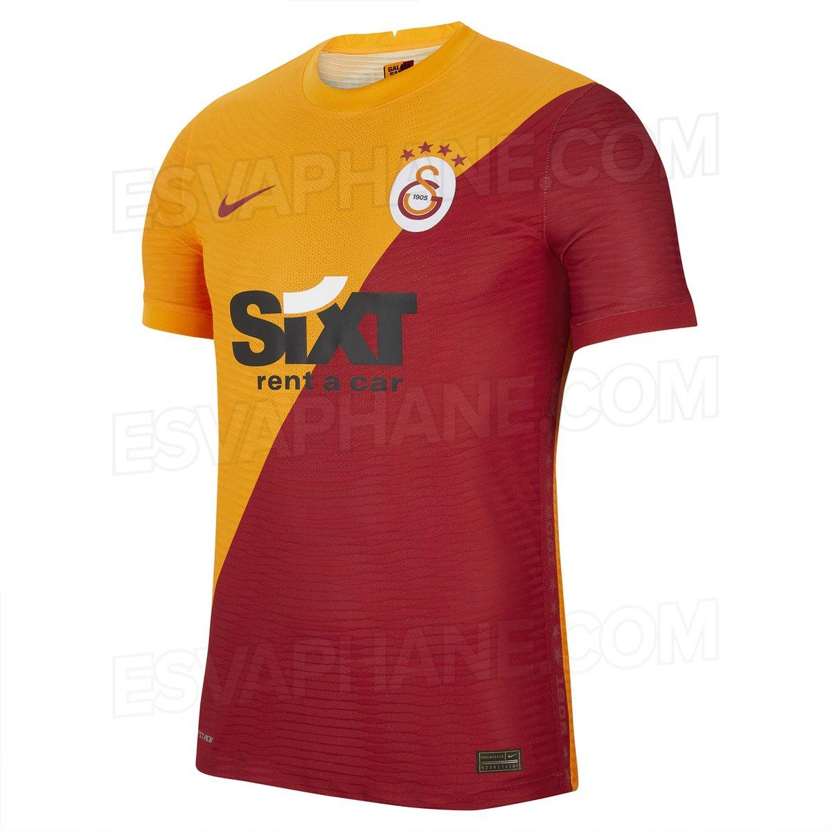 Filtraciones clubes Nike 2021-22 - Galatasaray