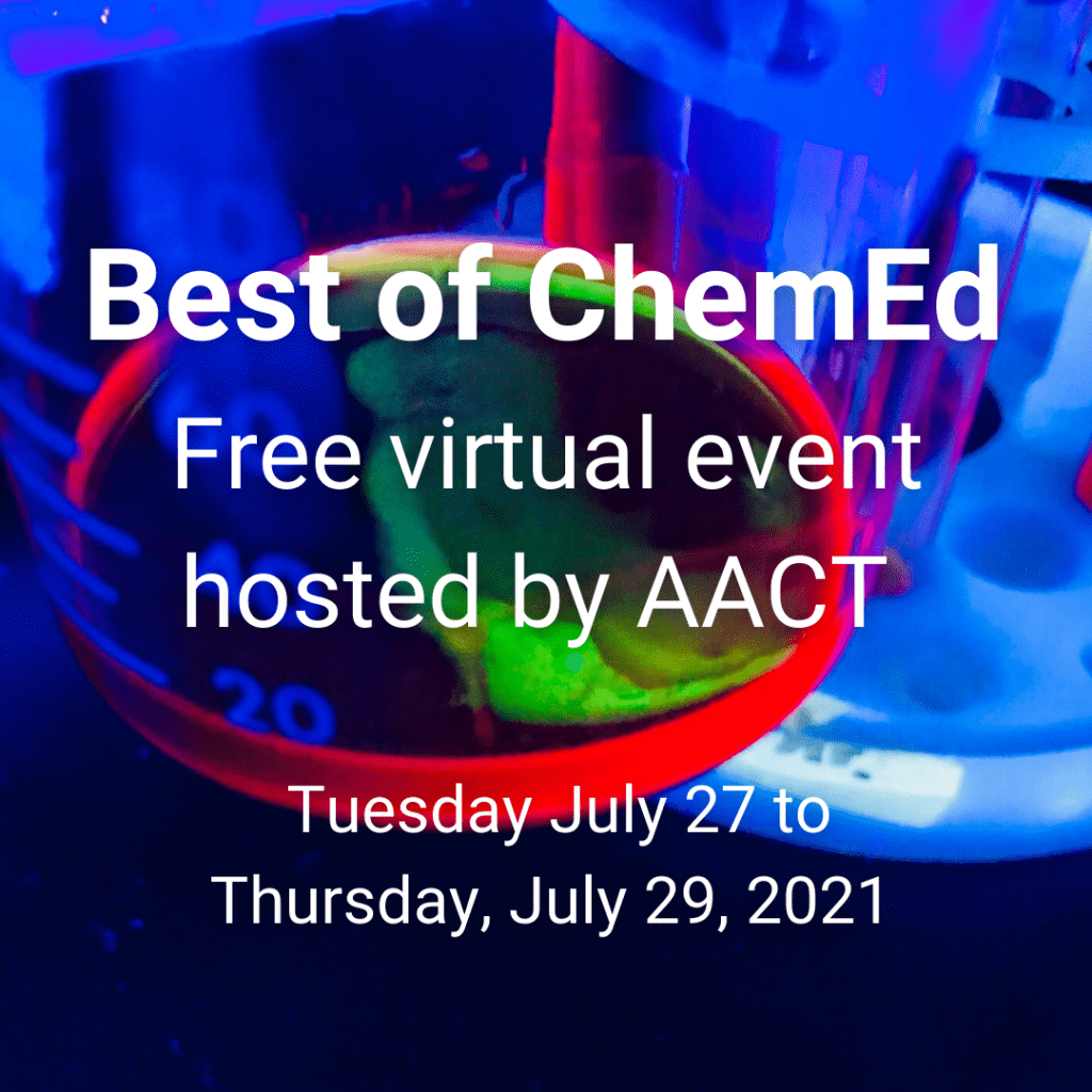 test Twitter Media - Mark your calendars for July 27-July 29  for the FREE virtual event hosted by @AACTconnect For more information: https://t.co/0wbhTdHlmo @kcmittiga84 @NYSMTP @IBChemNinja @APchemisMe @polychemgirl https://t.co/7T1uTghGys
