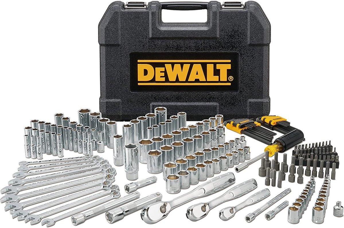 ad: $99 (45% off)  DEWALT Mechanics Tool Set (205-Pieces)   Link0 Link0