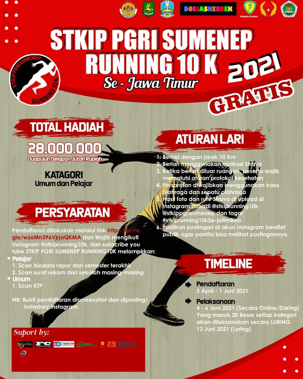 STKIP Running 10K • 2021