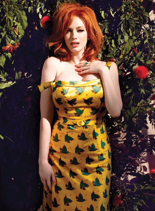 We may be a little late with this one but  Happy Birthday Christina Hendricks