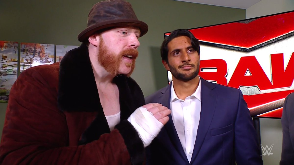 Mansoor Signs With The WWE RAW Brand, Gets Title Shot