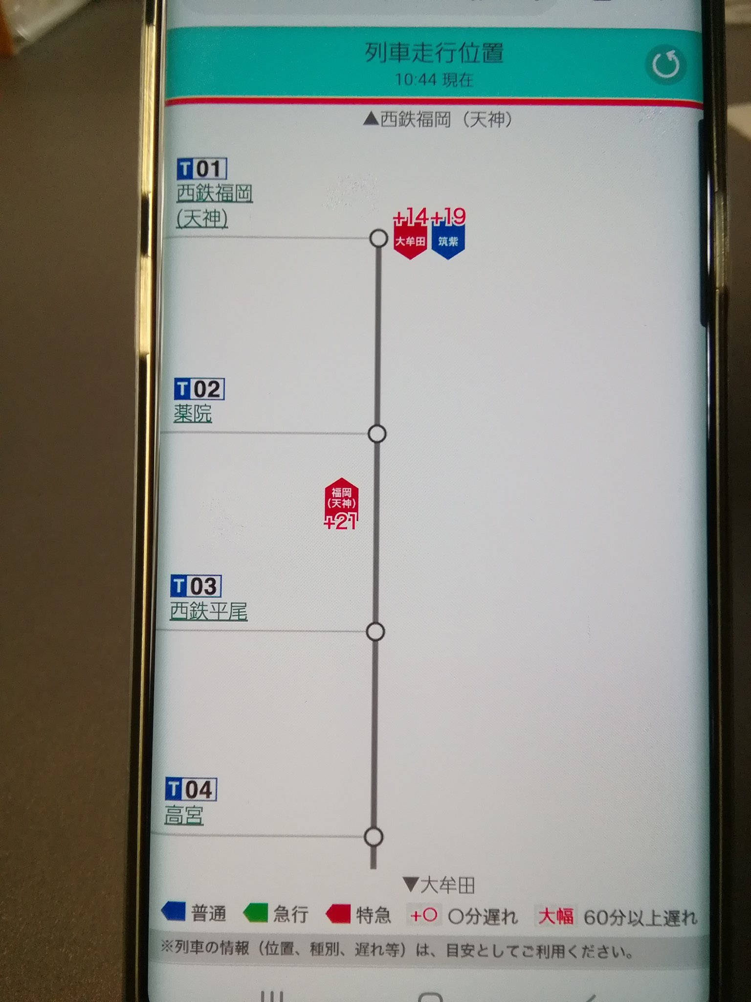 画像,10時22分頃、西鉄平尾駅で人身事故発生福岡(天神)~大橋間で運転見合せ https://t.co/WK2s1xxhgl…