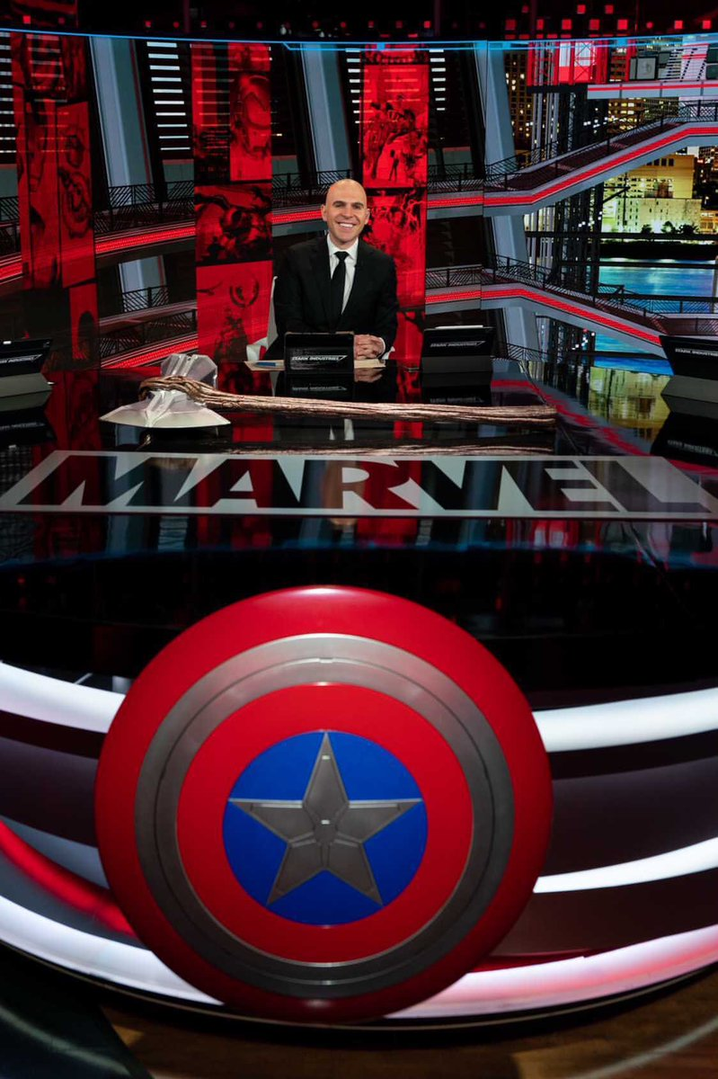 """Ryan Ruocco on Twitter: """"That was a blast. Thanks y'all for having some fun  with us. @Marvel @espn… """""""