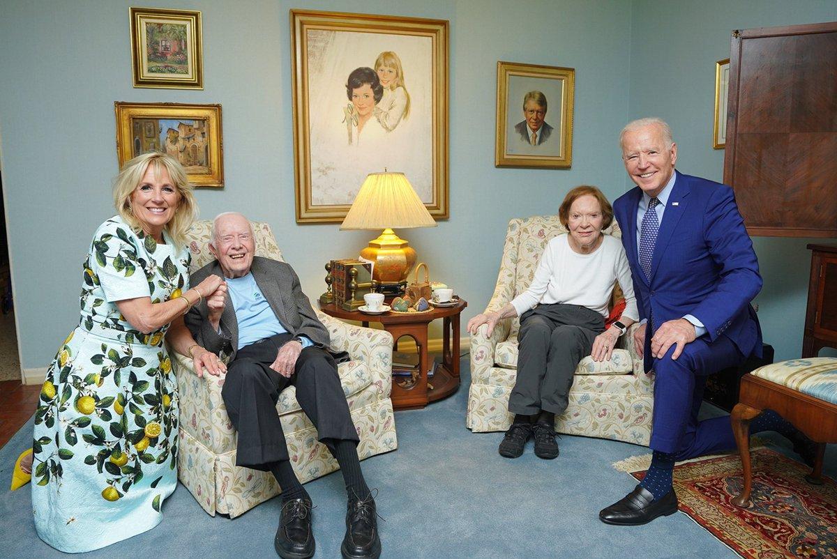 @SethAMandel's photo on The Bidens