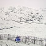 Image for the Tweet beginning: Winter returns to the Scottish