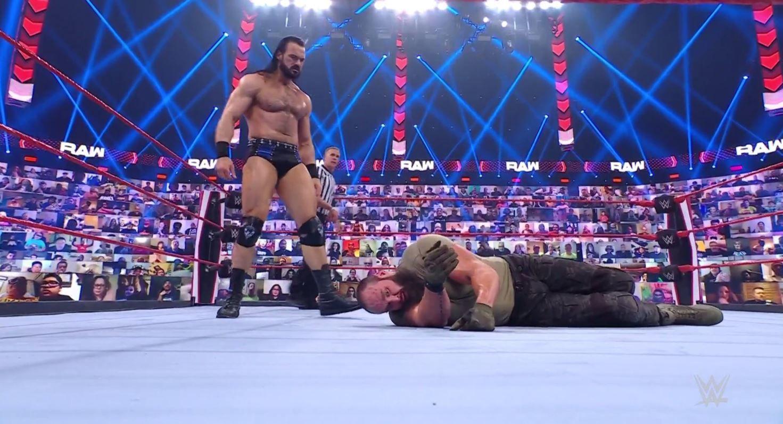 WWE Raw results, recap, grades: Drew McIntyre takes out Bobby Lashley and Braun Strowman Photo