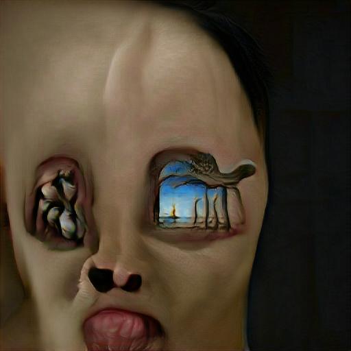 'surrealism' Big Sleep Text-to-Image