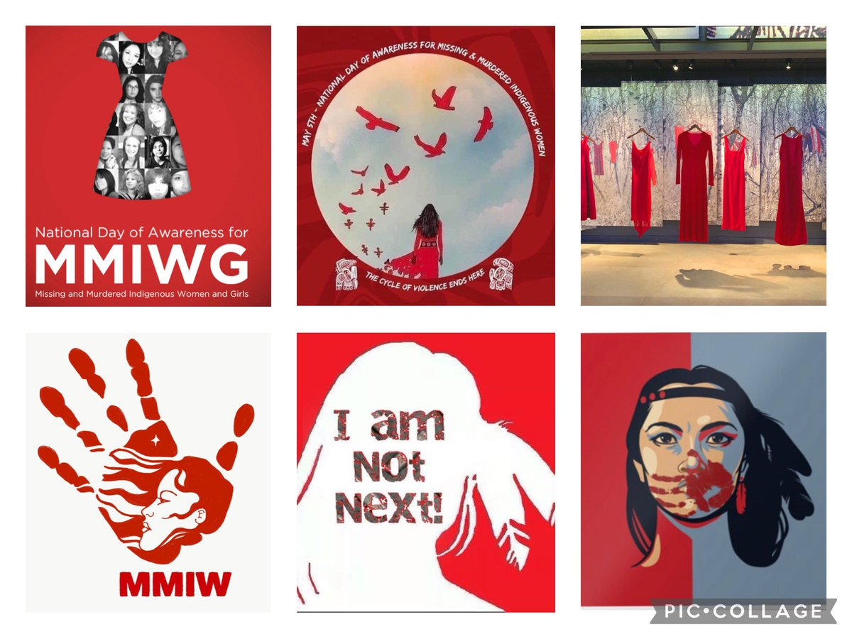 ❤️❤️❤️Please consider wearing RED on Wednesday May 5th as it is the National Day of Awareness for Missing and Murdered Indigenous Women and Girls. ❤️❤️❤️ #MMIWG #MMIWG2S #INDIGENOUS #IndigenousPeoples #MMIW #protectoursisters #reddress #iamnotnext https://t.co/ThaBzj0Cmk